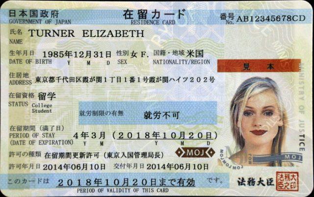 Residence Card