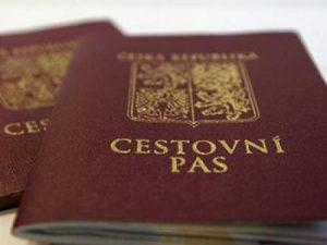 Паспорт Чехии.
