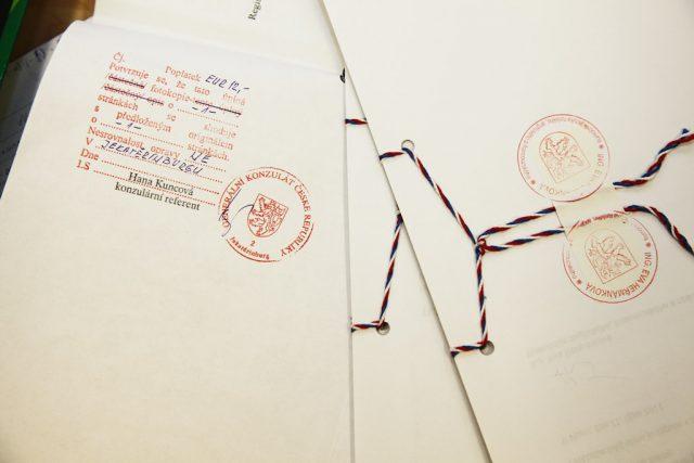 Апостиль перевода документов на чешский.