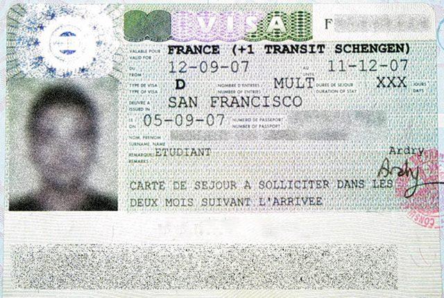 Анкета на визу во Францию: как заполнить в 2017 году
