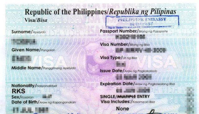 Виза на Филиппины для россиян в 2018 году: нужна ли, оформление