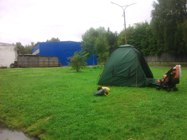 Кемпинг Tallinn City Camping в Таллине.