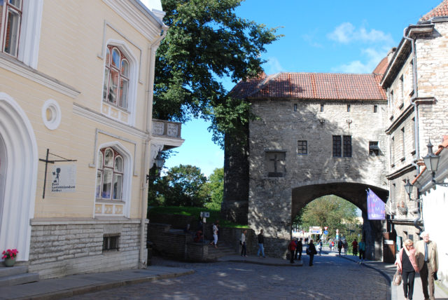 Старый город в Таллине.