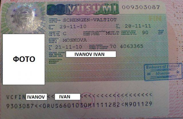 Анкета на визу в Финляндию: правила и образец заполнения в 2017 году