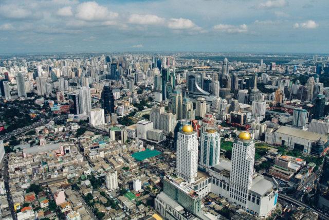 Вид с Baiyoke Sky Hotel