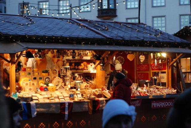 Рождественский базар в Таллине