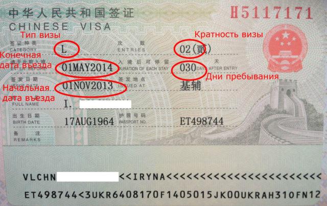 Виза в Китай для россиян: самостоятельное оформление в 2018 году
