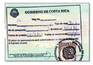 Виза в Коста-Рику для россиян в 2018 году