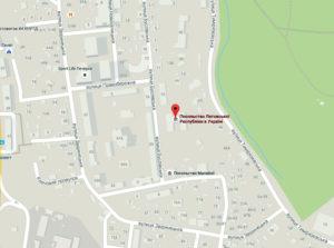 Адрес Посольства в Киеве
