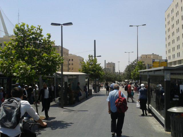 Иерусалим. Днем 1 июля 2015 года.