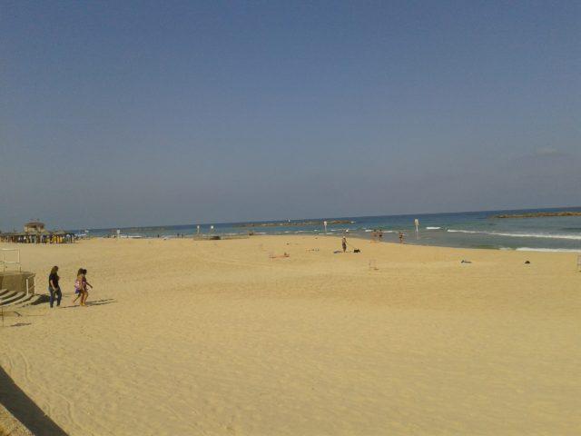 На пляже 1 июля
