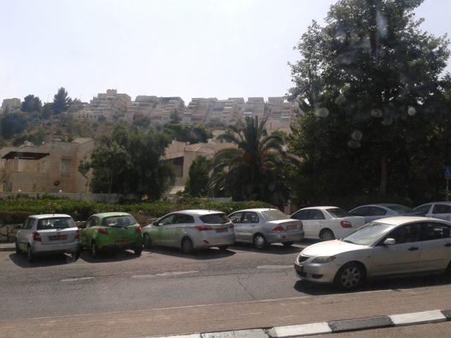 Стандартые жилые дома Иерусалима.