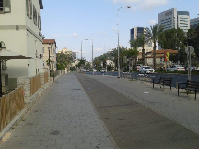 Улица в Тель-Авиве